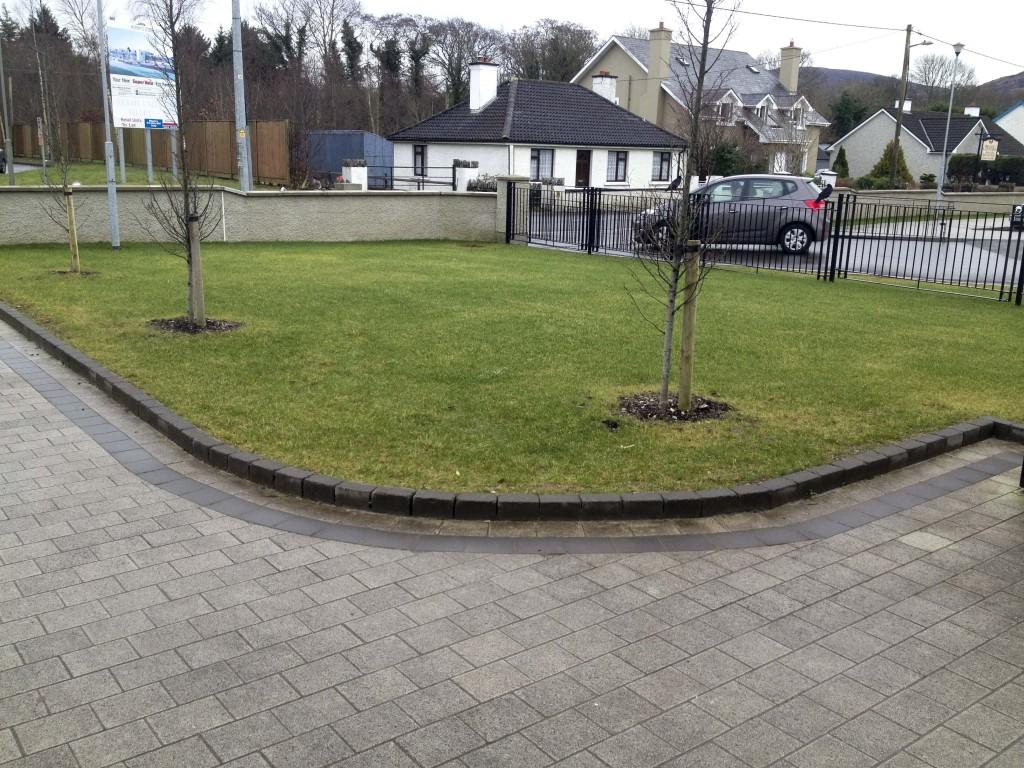 School Yard (from school entrance towards road)
